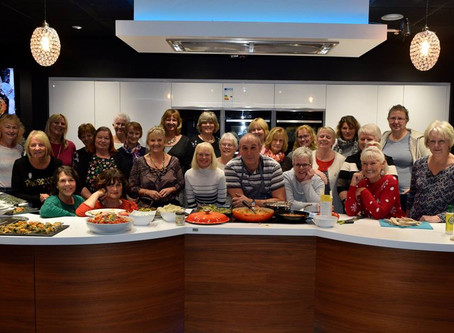 Purewell Electrics Cookery Demo