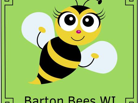 Barton Bees WI Badges