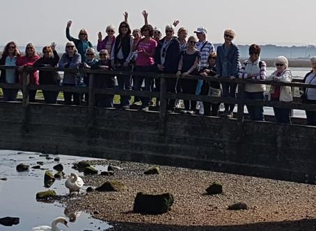 Milford on Sea Walk