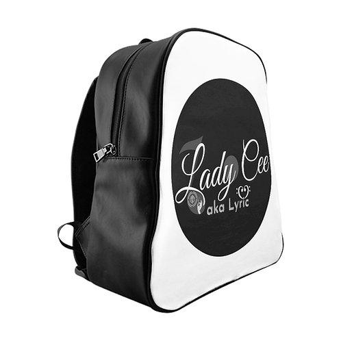 Lady Cee Lyric Logo Backpack w/ Padded Laptop Sleeve