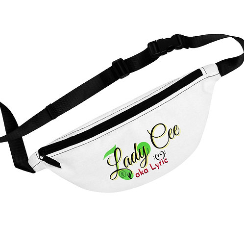 LadyCeeLyric Logo in color Fanny Pack