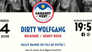 DIRTY WOLFGANG AT CABARET VERT