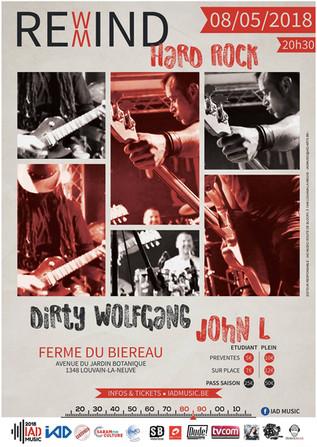 Dirty Wolfgang @ Ferme Du Biéreau 08/05