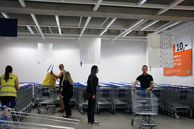 Productdesign in Ikea