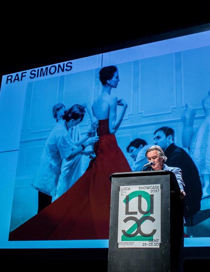 Raf Simons alumnus van 2017