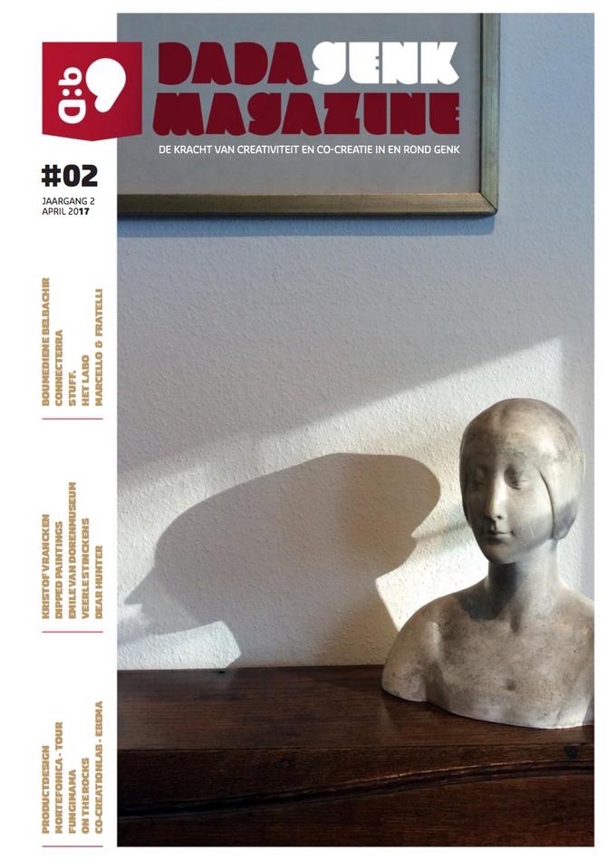 Productdesign in Dada magazine