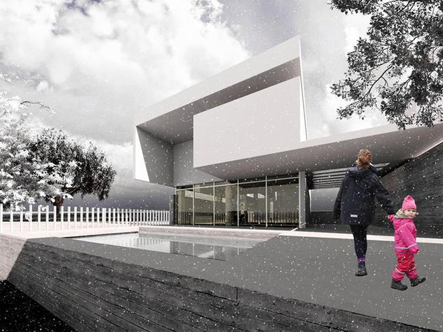 New house, Mistegna