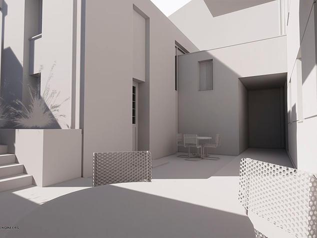 House extension, Moria
