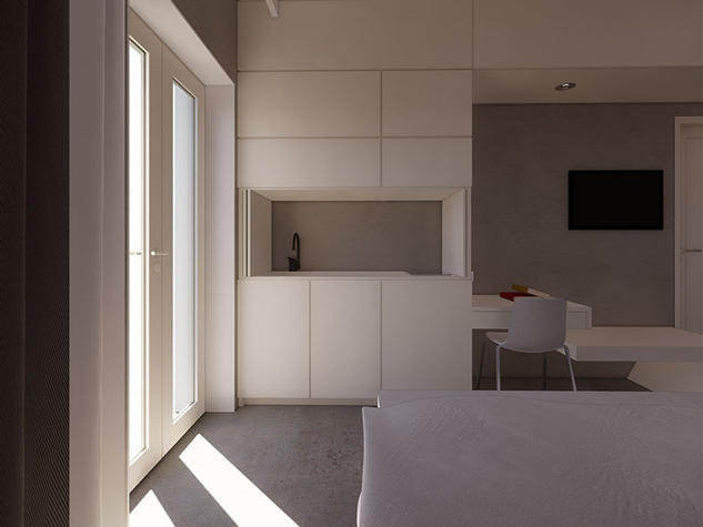 Hotel,6 x Rooms Renovation, Molyvos