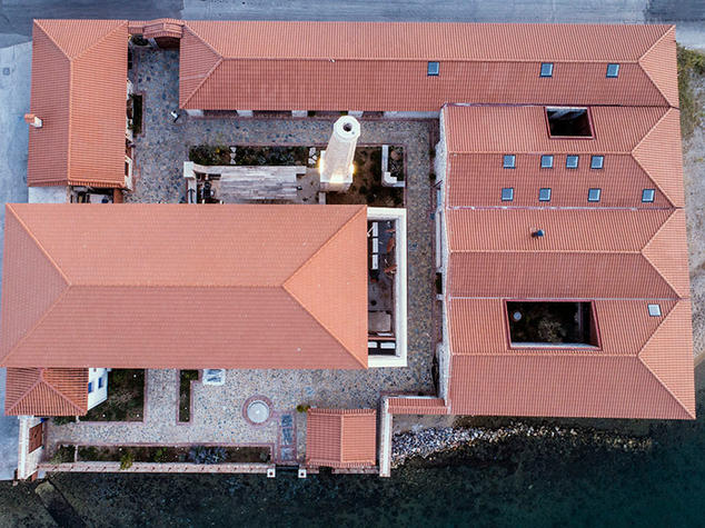 Private Residence within Industrial shell, Perama