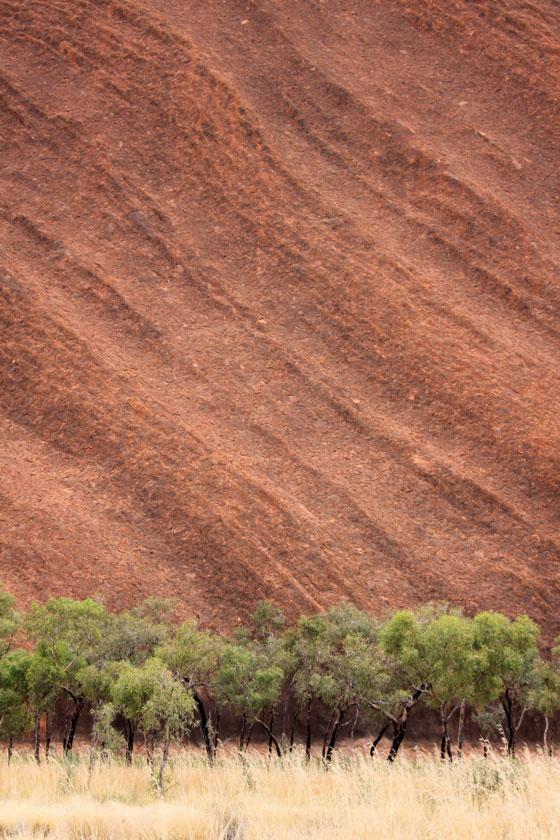 Texture of Uluru
