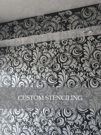 Custom Stenciling