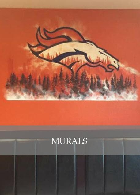 Custom Murals by Designs by Edwina