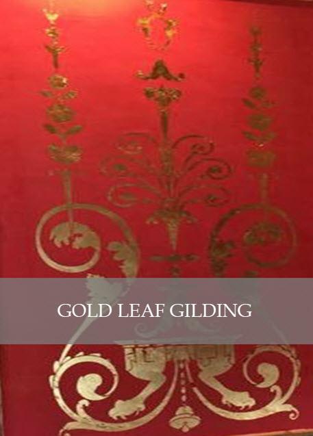 Gold Leaf Gilding by Designs by Edwina