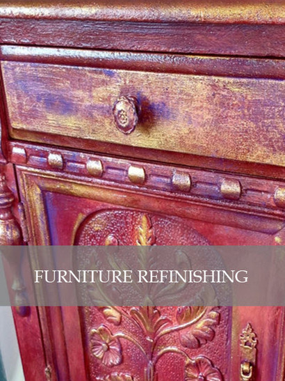 Furniture Refinishing by Designs by Edwina