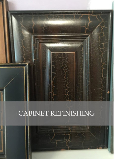 Cabinet Refinishing by Designs by Edwina