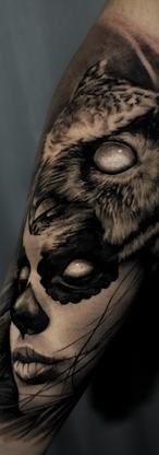 Catrina Owl Tattoos