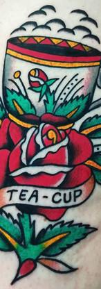 Tea Rose Tattoo
