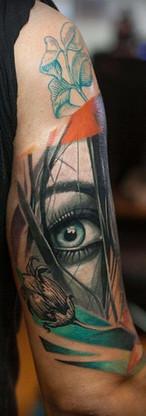 Eye Avantgarde Tattoo