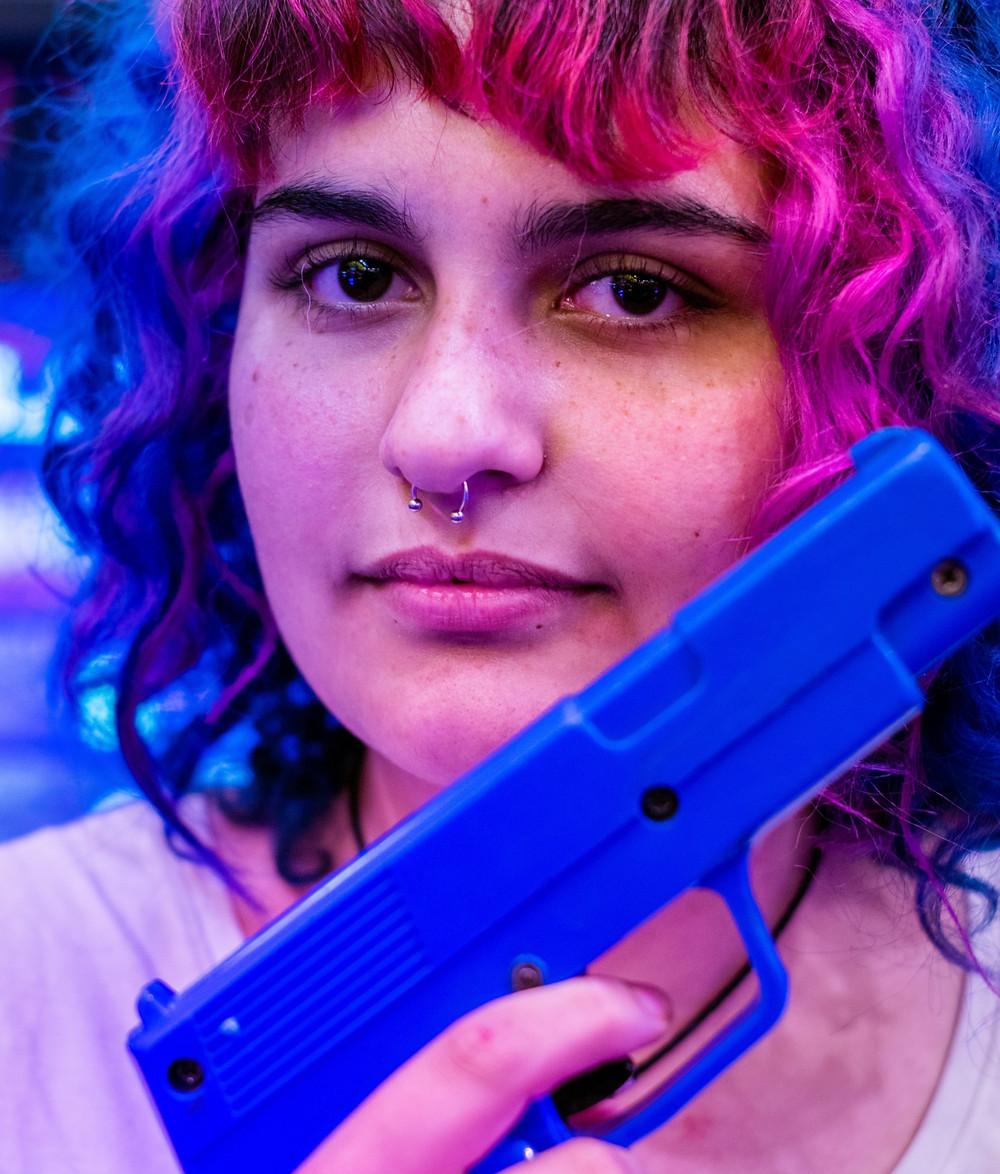 piercing pistola