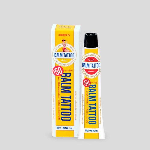 Balm Tattoo Sunblock 75+ 30 grs. Protector solar para tatuagens