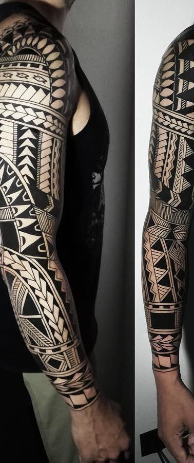 Polinesia Maori Tattoo