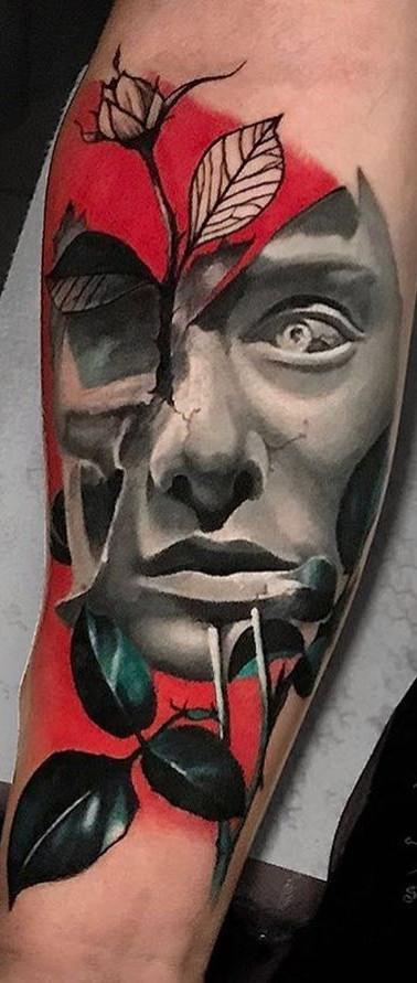 Face Avantgarde Tattoo