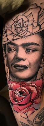 Frida Kalo Avantgarde Tattoo