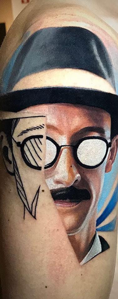 Fernando Pessoa Tattoo
