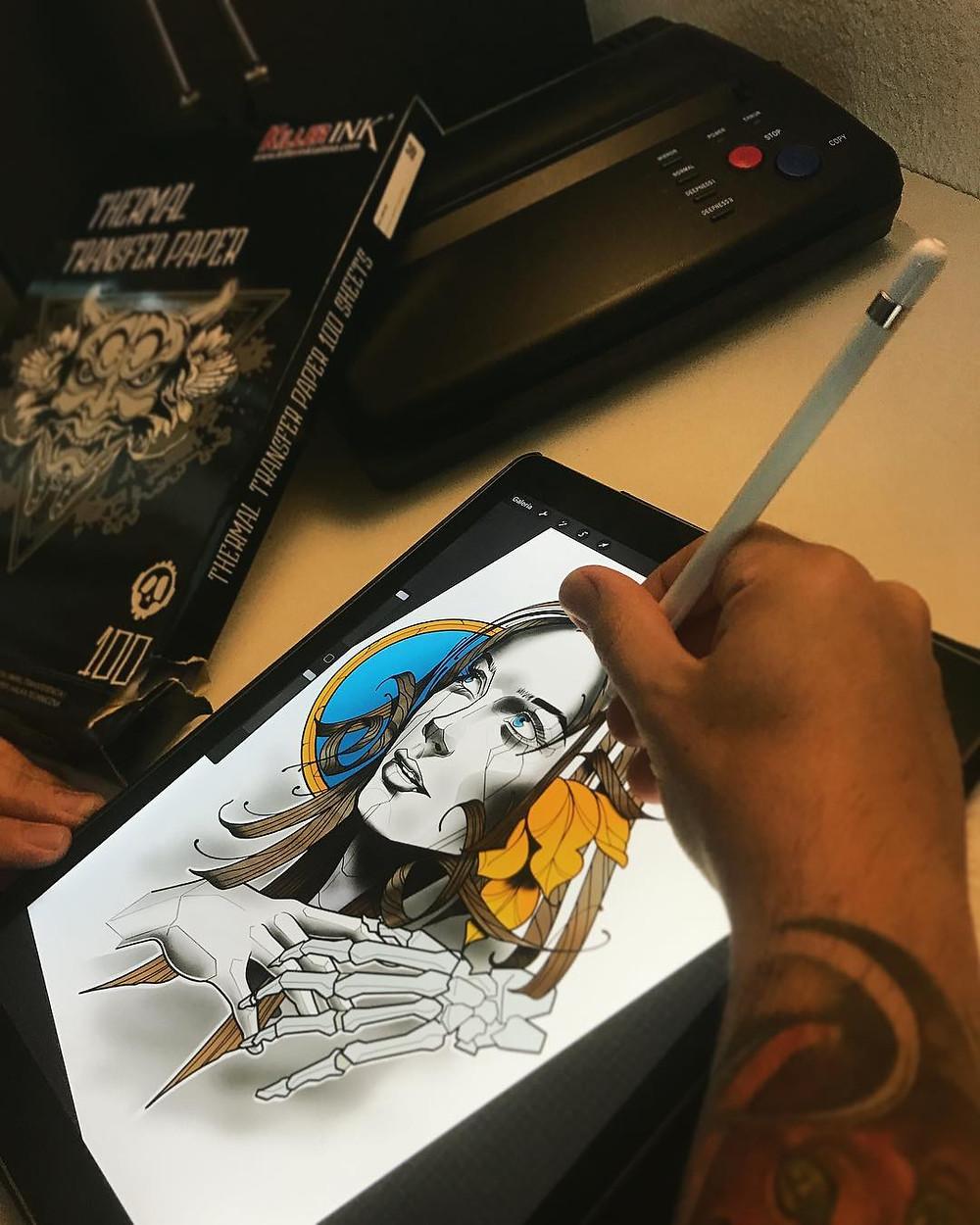 Tattoo Drawing Project