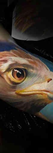 Eagle Color Realistic Tattoo