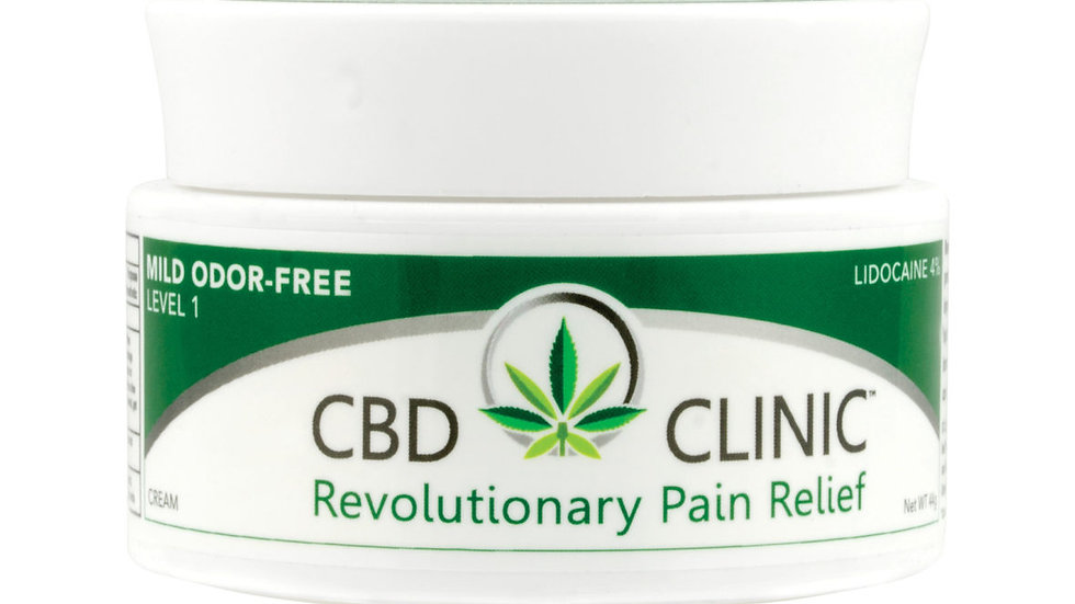 CBD CLINIC LEVEL 1 – MILD PAIN THERAPY – ODOR FREE