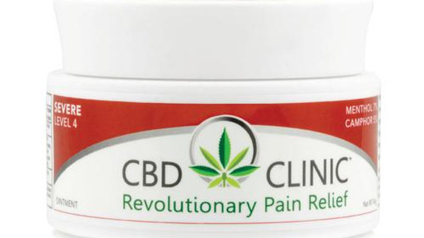 CBD CLINIC LEVEL 4 – DEEP MUSCLE & JOINT PAIN RELIEF