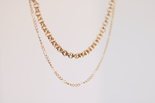 Layered Gold Chains