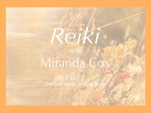 Reiki session - 1 hour