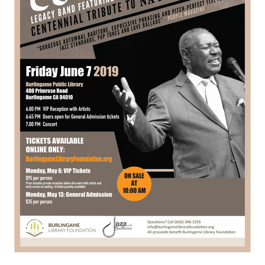 Freddy Cole sells out!