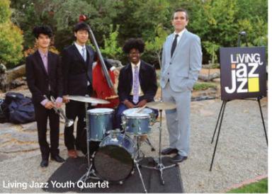 Living Jazz students