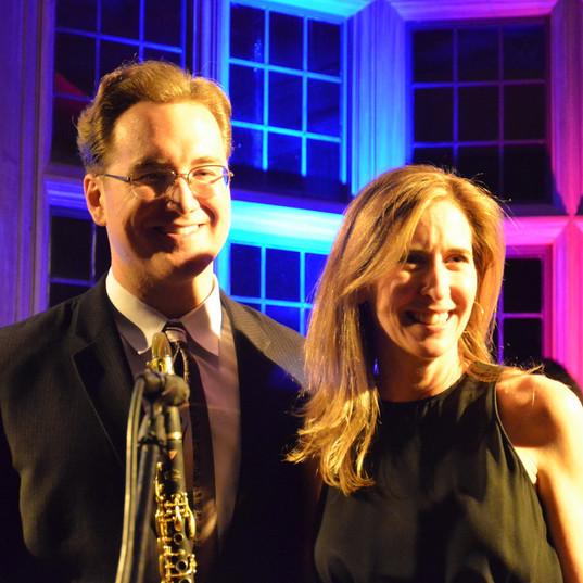 Dave Bennett and Suzanne Roche