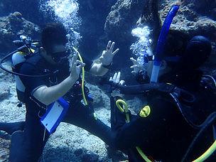 体験ダイビング:青の洞窟イメージ