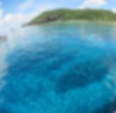 チービシ方面ボートダイビングイメージ