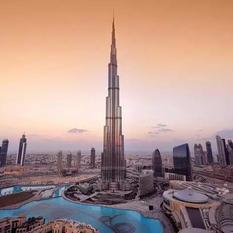 Burj Khalifa mint még soha