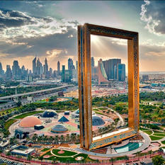 Dubai Frame időutazás