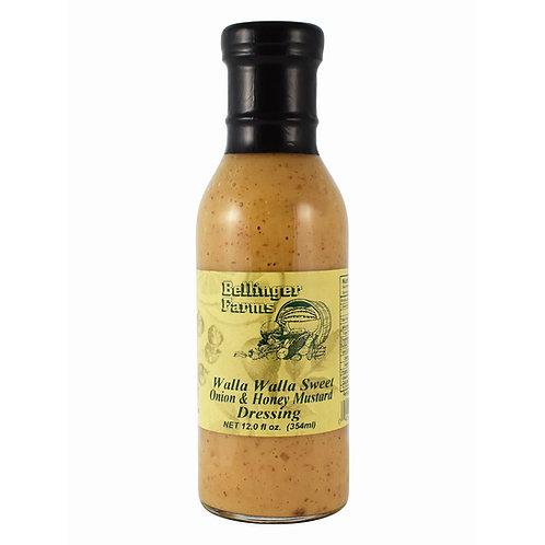 Walla Walla Sweet Onion & Honey Mustard Dressing