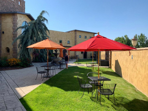Wine Tasting & Small Plates in the Courtyard