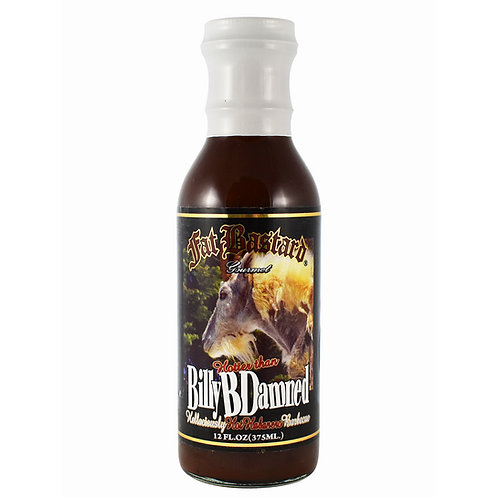 Billy B Damned Hot Habenero BBQ Sauce