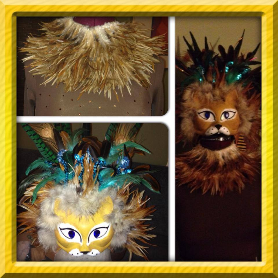 Lion dance costume