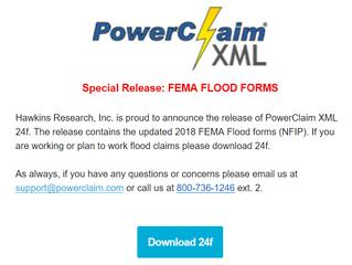 2018 FEMA FLOOD FORMS