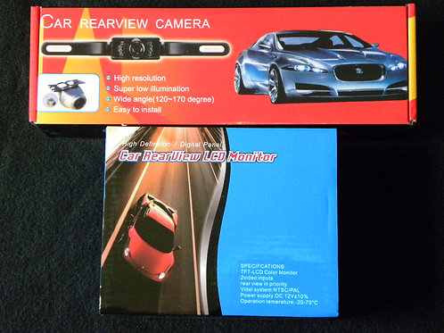 Car Rear View Camera with LCD Monitor