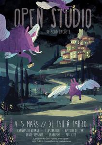 Open Studio Poster Design