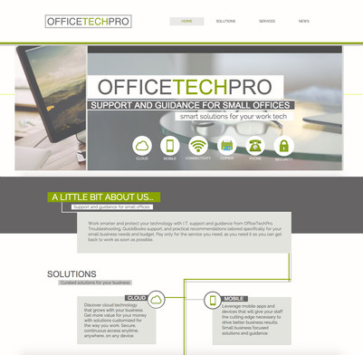 OfficeTechPro Web Design